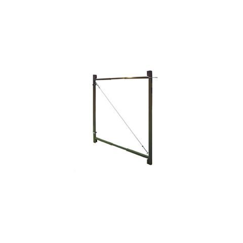 "Jewett-Cameron 2-Rail Single Adjust-A-Gate, 45""H x 36-72"" Widths"