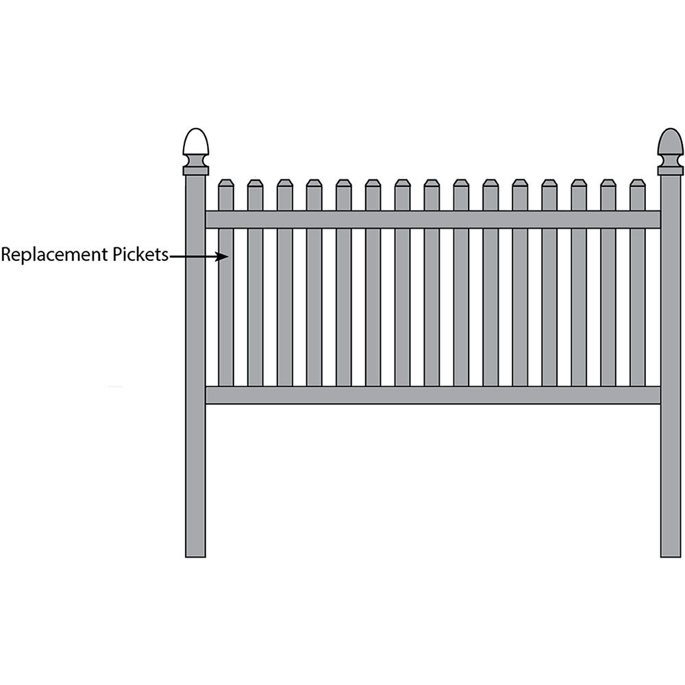 Bufftech Rothbury Fence - Replacement Pickets