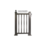 Key-Link American Series Aluminum Railing - Sections (AMERICAN-S)