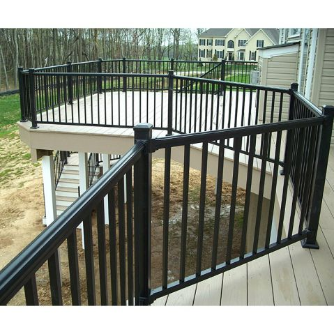 Key-Link Arabian Series Aluminum Railing - Sections