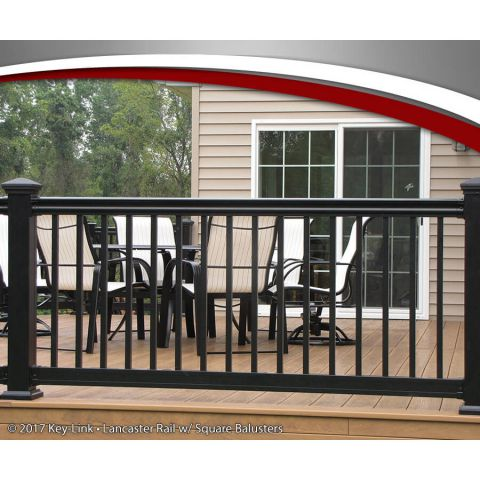 Key-Link Lancaster Series Aluminum Railing - Sections