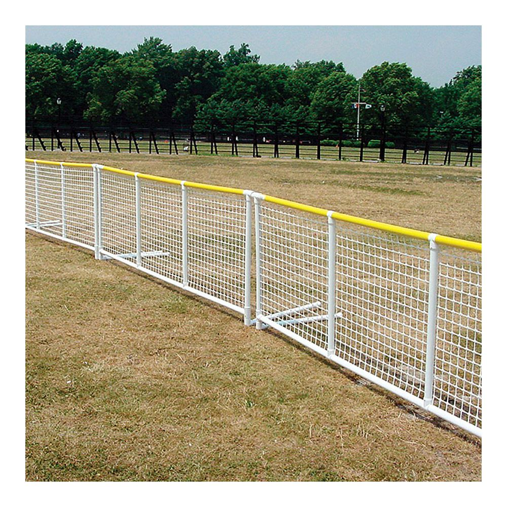 Signature Fencing Optional Yellow Top Rail Cap for Standard Sportpanel - Ship Quote Required