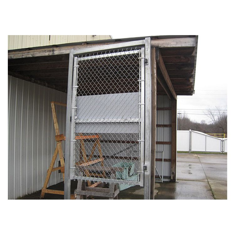 Hoover Fence Pre Hung Chain Link Fence Panic Bar Gates