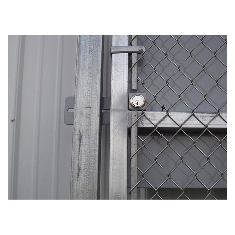 Hoover Fence Pre Hung Chain Link Panic Bar Gates Hoover