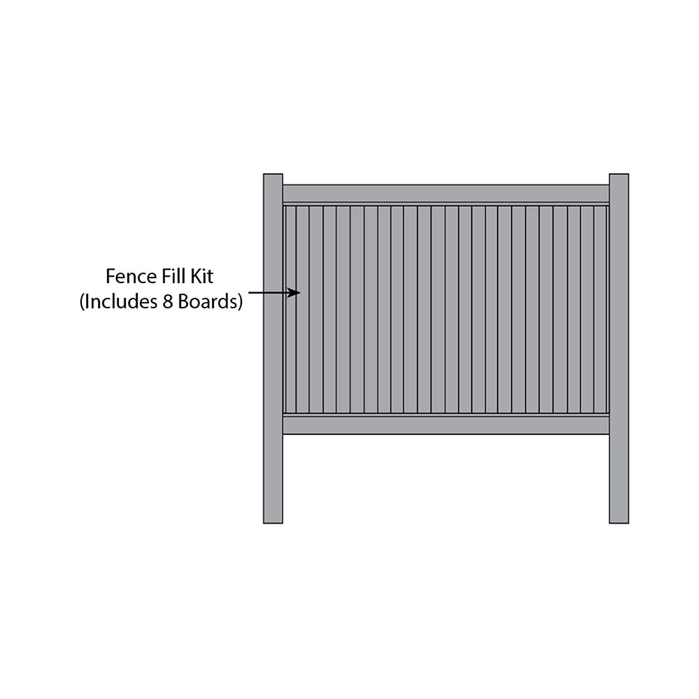 Bufftech New Lexington Fence Fill Kits
