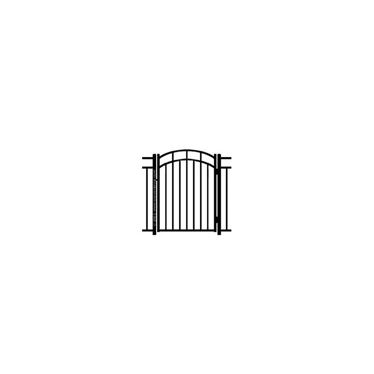 Ideal Carolina #4034 Arched Walk Gate