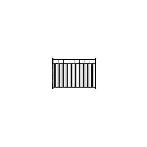 Ideal Carolina #403 Modified Double Picket Aluminum Fence Section