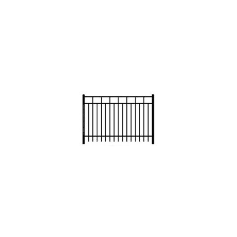 Ideal Carolina #403 Aluminum Fence Section