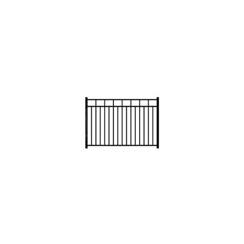 Ideal Carolina #403 Modified Aluminum Fence Section