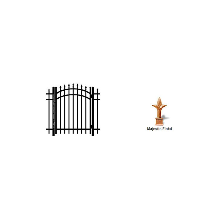 Ideal Finials #6003 Arched Walk Gate