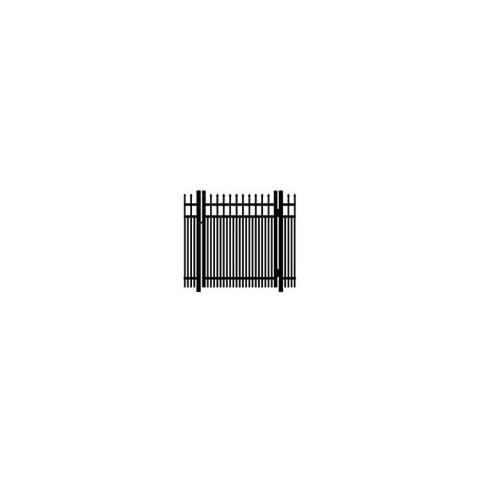 Ideal Maine #203D Single Swing Gate - Double Picket