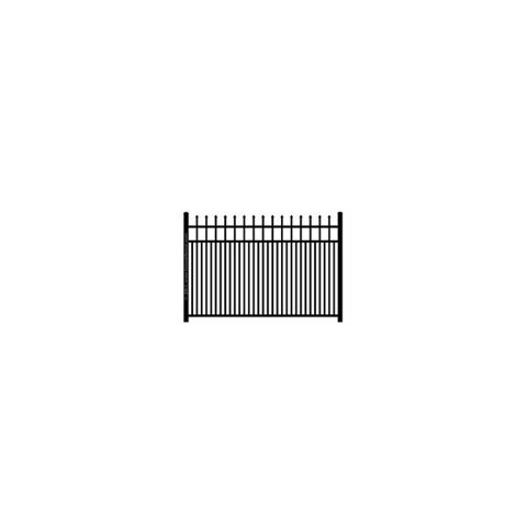 Ideal Maine #203 Modified Double Picket Aluminum Fence Section