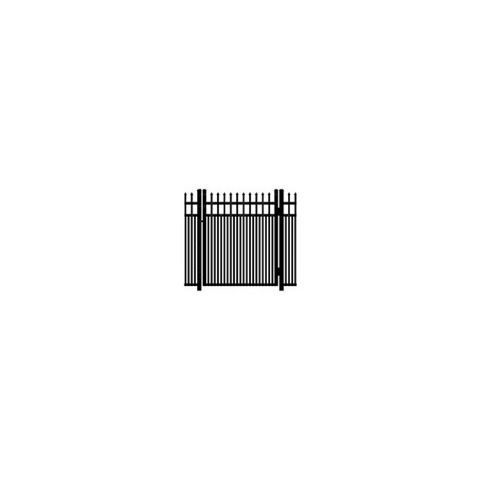 Ideal Maine #203MD Single Swing Gate - Modified Double Picket