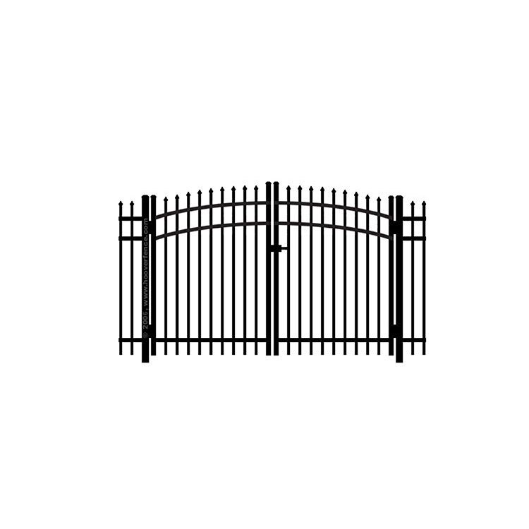 Jerith #101 Aluminum Rainbow Double Gate