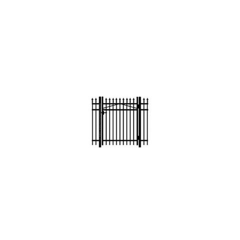 Jerith #111 w/Finials Aluminum Single Swing Gate