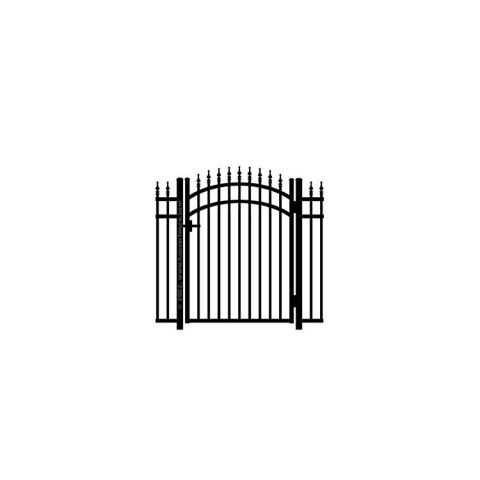 Jerith #111M w/Finials Aluminum Accent Gate - Modified