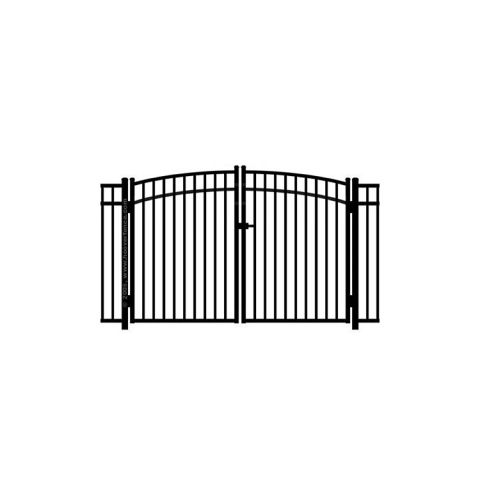 Jerith #202M Aluminum Rainbow Double Gate - Modified