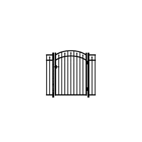 Jerith #211M w/Finials Aluminum Accent Gate - Modified