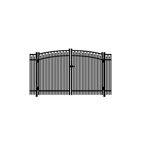 Jerith #400 Aluminum Rainbow Double Gate