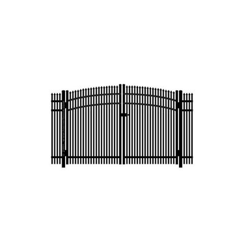 Jerith #401 Aluminum Rainbow Double Gate