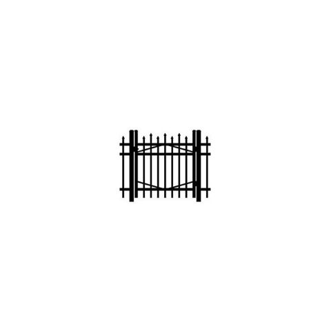 Jerith #I100 Aluminum Single Swing Gate