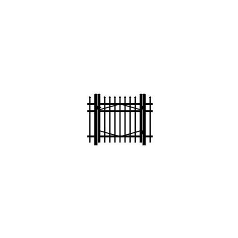 Jerith #I101 Aluminum Single Swing Gate