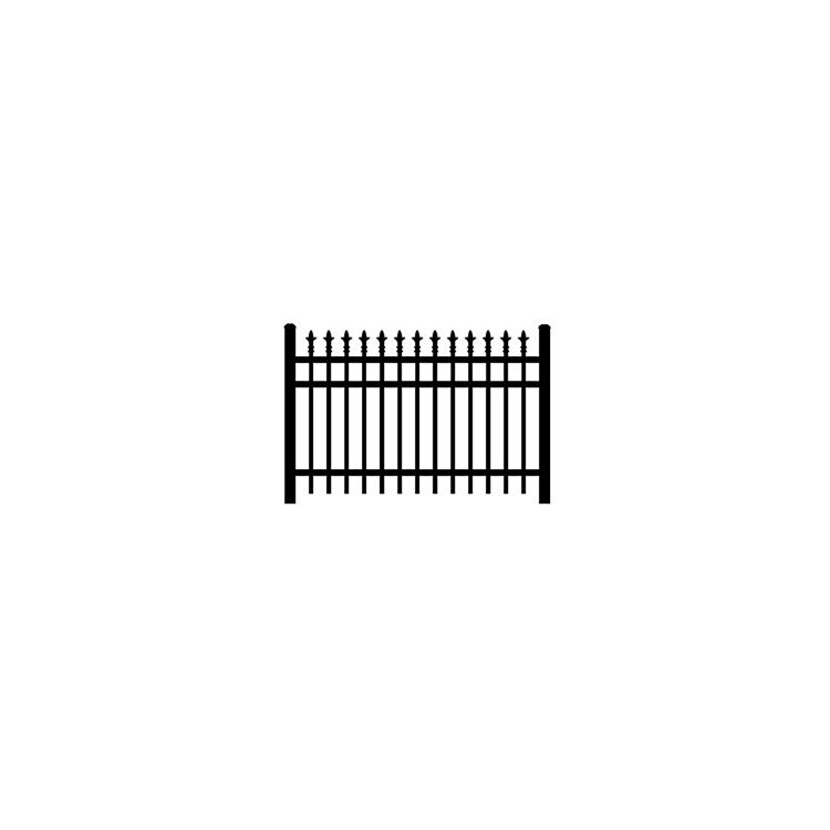 Jerith #I111 Fence Section w/Finials