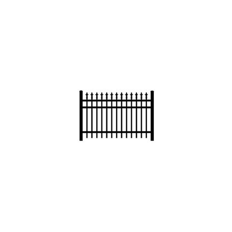 Jerith #I111 Aluminum Fence Section w/Finials
