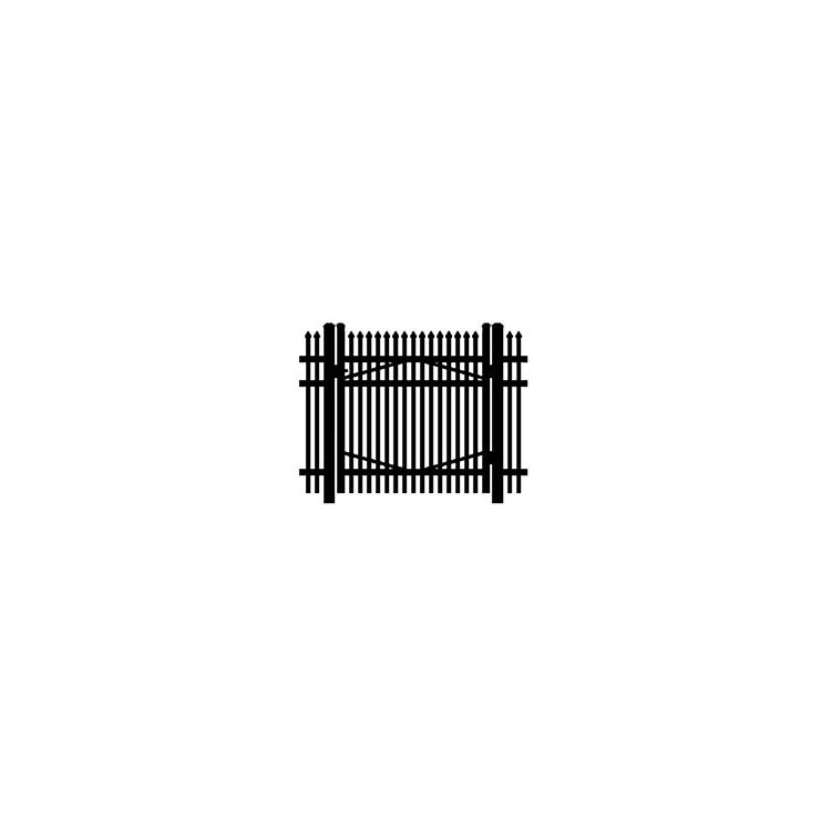Jerith #I401 Aluminum Single Swing Gate