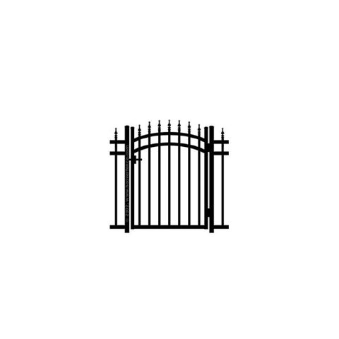 Jerith Kensington w/Finials Accent Gate