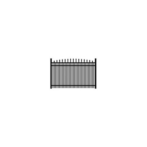 Ultra UAS-351 Aluminum Fence Section