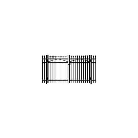 Jerith #111 w/Finials Double Swing Gate