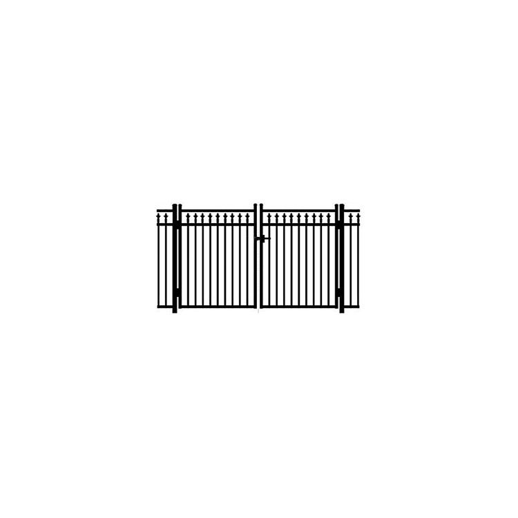 Jerith #211 Modified Double Swing Gate w/Finials