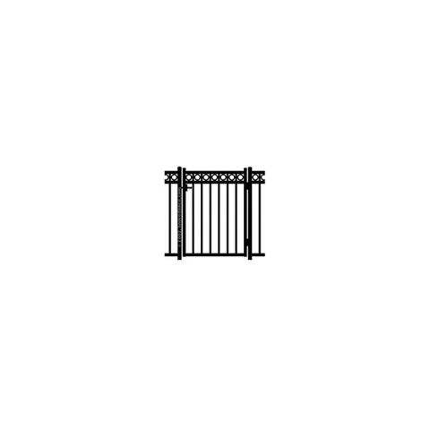 Jerith Windsor Plus Rings Single Swing Gate