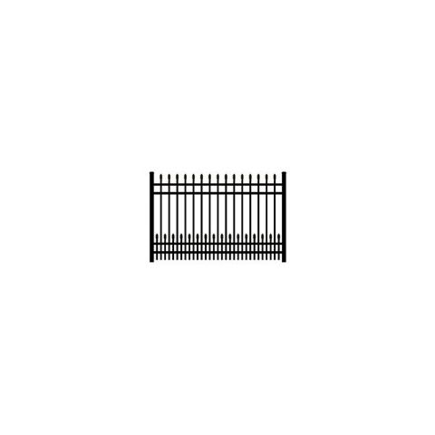 Ultra UAS-100 Aluminum Fence Section