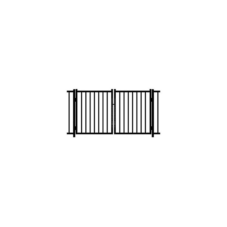 Ideal Alamo #400 Aluminum Double Swing Gate - Standard