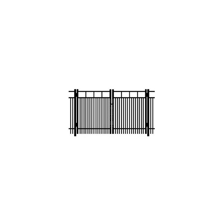 Ideal Carolina #403D Double Swing Gate - Double Picket
