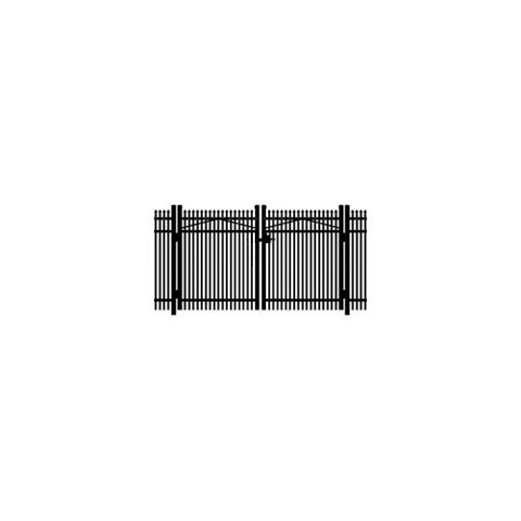 Jerith #401 Aluminum Double Swing Gate