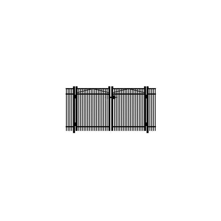 Jerith #402 Aluminum Double Swing Gate