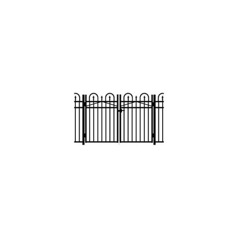 Jerith Concord #101 Modified Aluminum Double Swing Gate w/Points