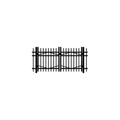 Jerith #I101 Aluminum Double Swing Gate