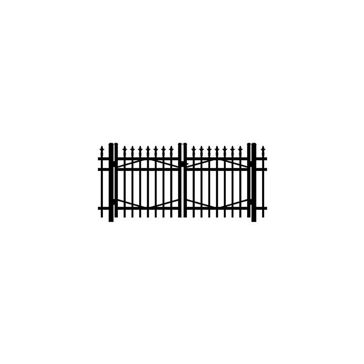 Jerith #I111 Double Swing Gate w/Finials