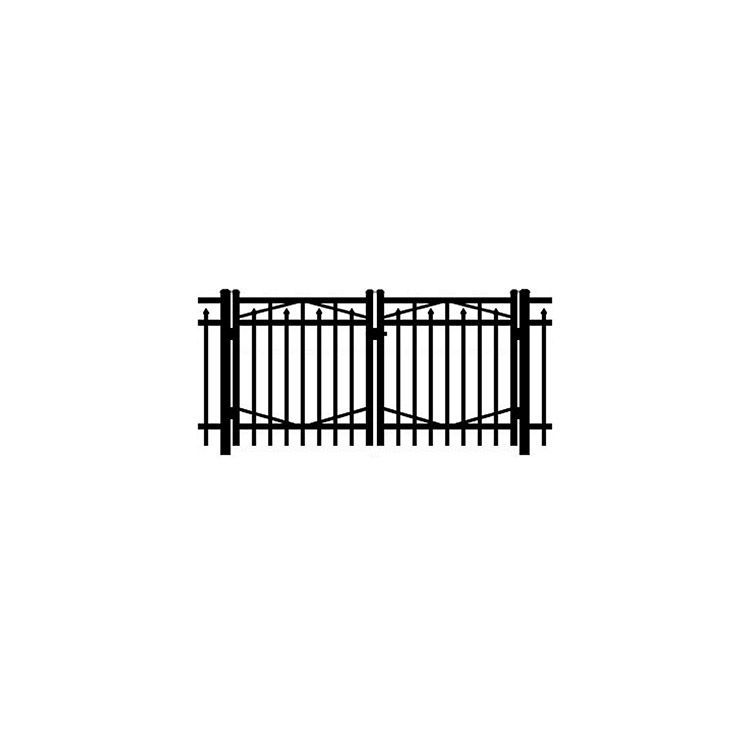 Jerith #I200 Aluminum Double Swing Gate