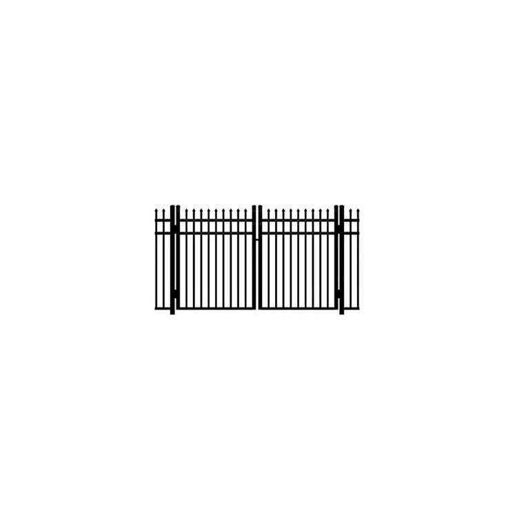 Ideal Maine #203M Aluminum Double Swing Gate - Modified