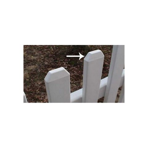 Vinyl Fence Picket Caps Hoover Fence Co