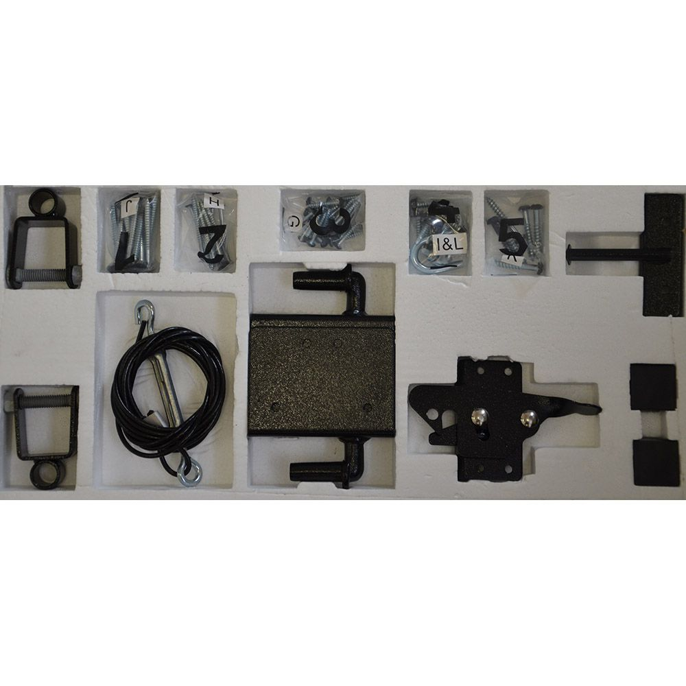 Jewett-Cameron Replacement Hardware Pack for Wood Adjust-A-Gates