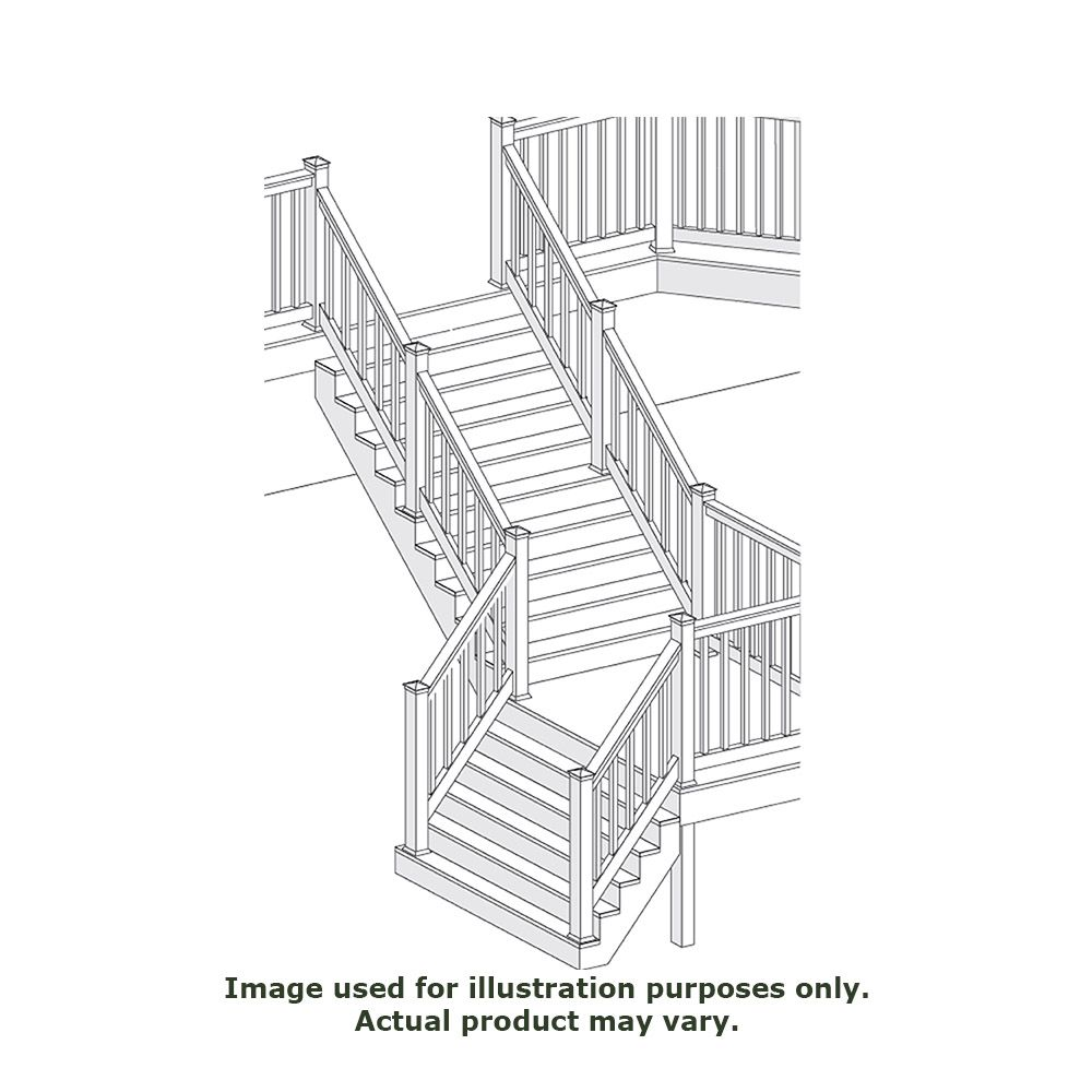 Bufftech Oxford Steep Stair Rails