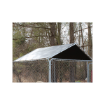 King Canopy 10' x 10' Kennel Cover - Silver (DK1010PCS)