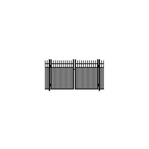 Ideal Maine #203MD Double Swing Gate - Modified Double Picket