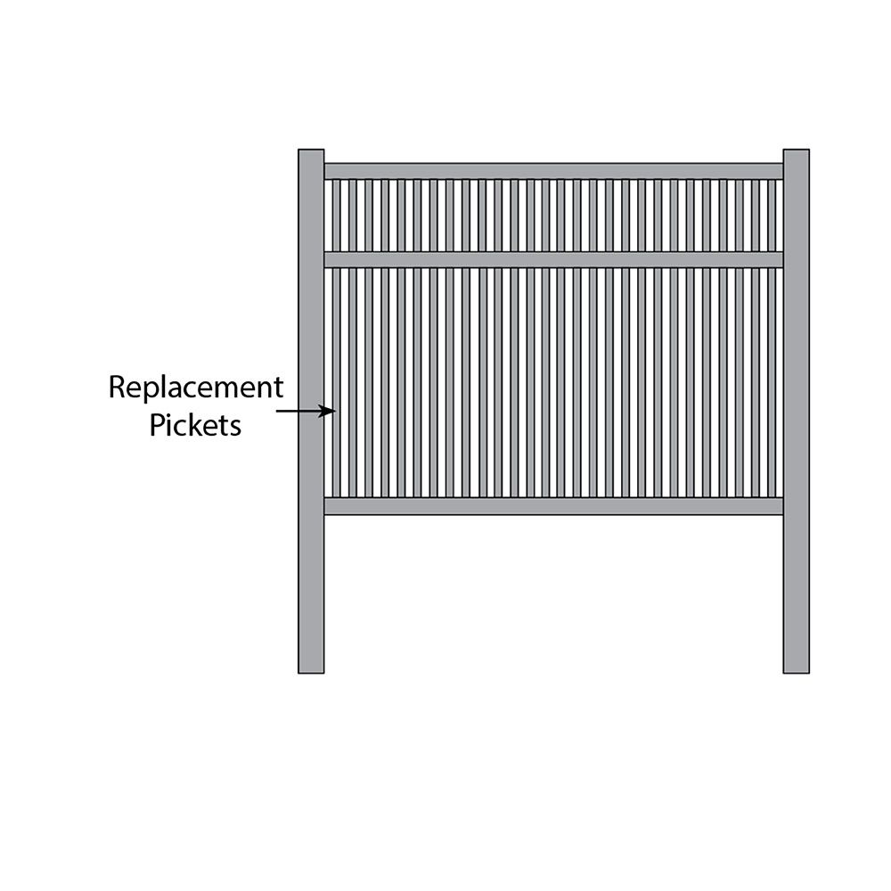 Bufftech Princeton Fence - Replacement Pickets